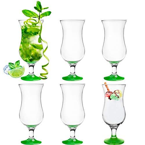 Platinux Juego de vasos de cóctel de 400 ml (6 unidades), vasos...