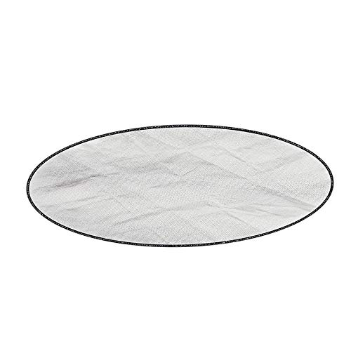 Nachar 2 Layers Grill Mat Barbecue Protective Pad Fireproof Cushion Portable Protect Deck Backyard Grass