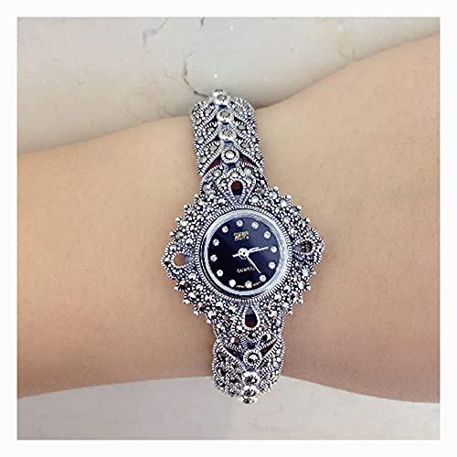 CHXISHOP Women's Watch 925 Sterling Silver Bijoux Vintage...