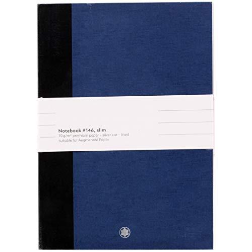Montblanc 2 x Notebook#146 Slim, Blu, Lined