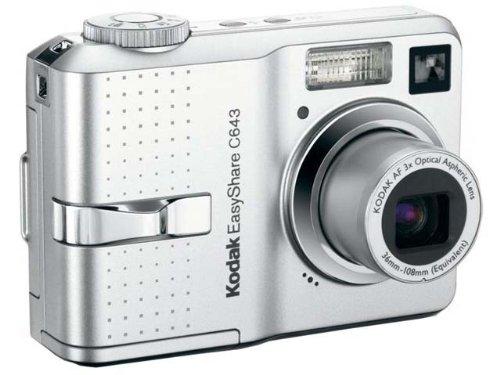 Kodak EasyShare C643 Digitalkamera (6 Megapixel)