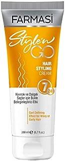 Farmasi Style'n Go Hair Styling Cream for Curly Hair, 200 ml./6.7 fl.oz.