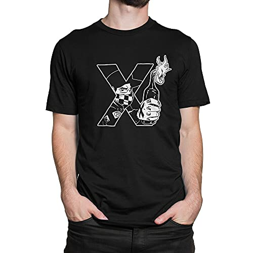 SHUBIAO Skinhead Molotov Scooter Mod Mens Outdoor Graphic T-Shirt Black s