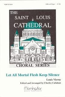 Let All Mortal Flesh Keep Silence - Organ Sheet Music
