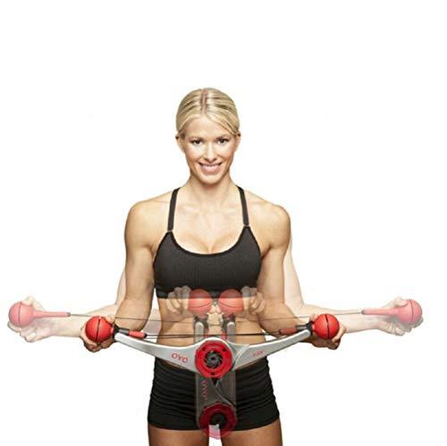 Best Bargain MiMi Gym – Full Body Portable Gym Equipment Set for Exercise at Home, Office or Travel – Strength Training Fitness Technology (White)