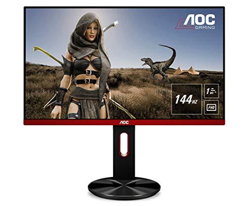 AOC Monitor Gaming G2790PX - 27', Full HD, 144 Hz, 1ms, TN, Freesync Premium, 1920x1080, 400 cd/m, D-SUB, HDMI 2x1.4, Displayport 1x1.2