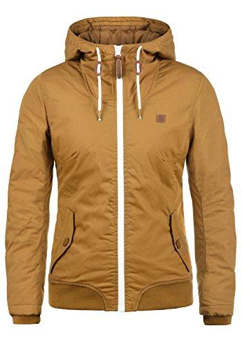 DESIRES Tilla Damen Übergangsjacke Jacke gefüttert mit Kapuze, Größe:XL, Farbe:Cinnamon (5056)