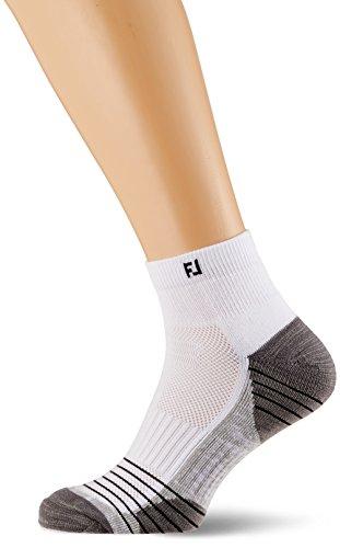 Footjoy Herren Tour Quarter Socken, Weiß (Blanco 17306H), 39/46 EU