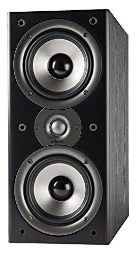 Polk Audio Monitor 40 Series II Bookshelf Speaker (Black, Pair) - Big Sound, High Performance | Perfect for Small or Medium Size Rooms