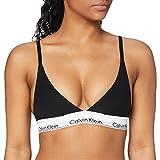 Calvin Klein Triangle Unlined Sujetador de triángulo, Negro (Black 001),...