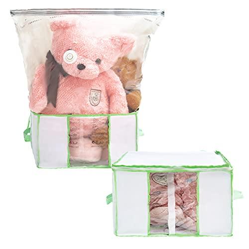 ボックス付き圧縮袋 圧縮ボックス ふとん圧縮ボックス 立体設計 圧縮袋と収納ボックス一体型 大容量 布団収納ケース 繰り返す使用可能 衣類 収納 ケース 25*42*40 cm 掃除機対応 布団圧縮袋 防塵 防湿