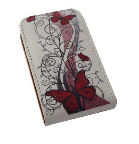 Handy Tasche Case Flip für Samsung Galaxy Y GT-S5360 / Handytasche Schutzhülle JS M13