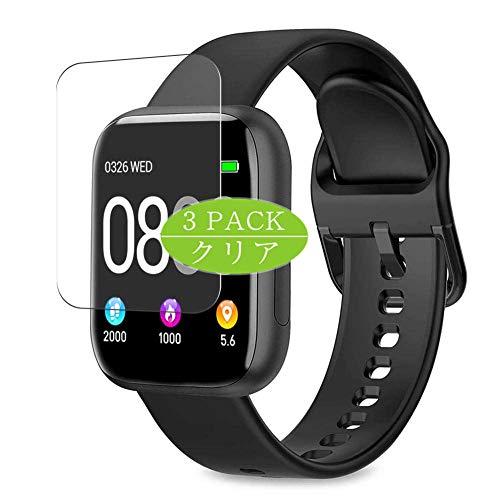 VacFun 3 Piezas Claro Protector de Pantalla, compatible con WWDOLL BANLVS BANLVS AIMIUVEI P4 P6 1.4' smartwatch Smart Watch, Screen Protector Película Protectora (Not Cristal Templado) Actualizado