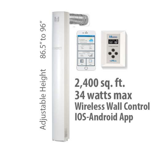 Review 96 Wireless Unit with Mobile App Option + Wireless Control, System Air Extractor & Dehumidif...