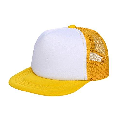 pingtr Sombrero del bebé niña y niño,Visera de Sombrero de Malla de Color sólido a Juego el Verano Playa...