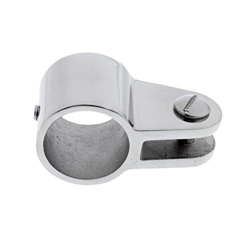 MagiDeal Edelstahl Rohr Klemme Rohrschelle für Boots- Sonnenverdeck Sonnensegel Bimini Top Hardware, Tube Slide Clamp - 22mm