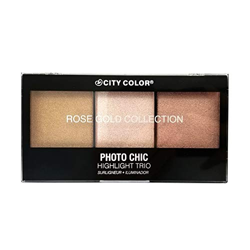 CITY COLOR Photo Chic Highlight Trio - Rose Gold (3 Pack)