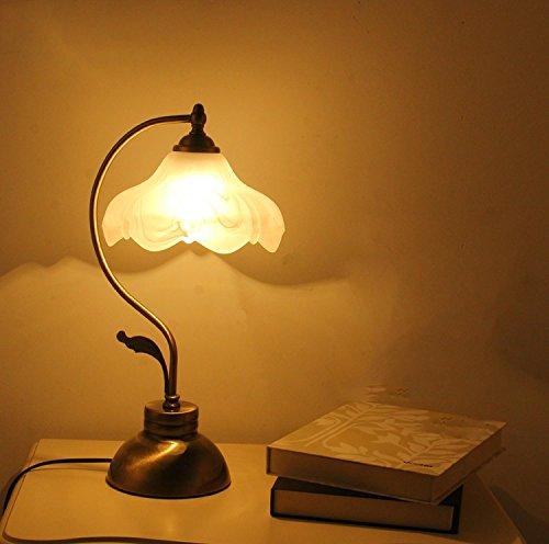 Yu-k creatieve retro-studio-lampen voor slaapkamer en slaapkamer zijn versierd voor de Britse bruiloft, minimalistische moderne lampen, knoopschakelaar (witte armband), de gloeilamp