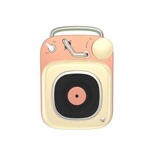 BQP Wireless Bass Bluetooth Lautsprecher Atomic Retro Mini Nostalgie Subwoofer Tragbar Kleiner Lautsprecher 3
