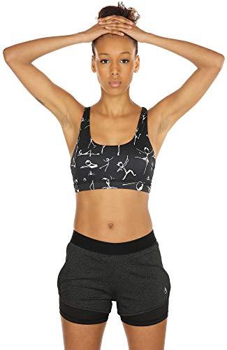 icyzone Running Yoga Shorts for Women