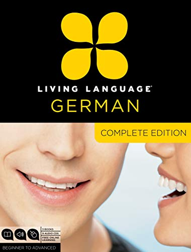 Compare Textbook Prices for Living Language German, Complete Edition: Beginner through advanced course, including 3 coursebooks, 9 audio CDs, and free online learning Bilingual Edition ISBN 9780307478559 by Living Language