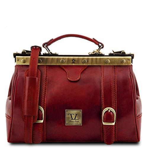 Tuscany Leather Monalisa Maulbügel - Arzttasche aus Leder Rot