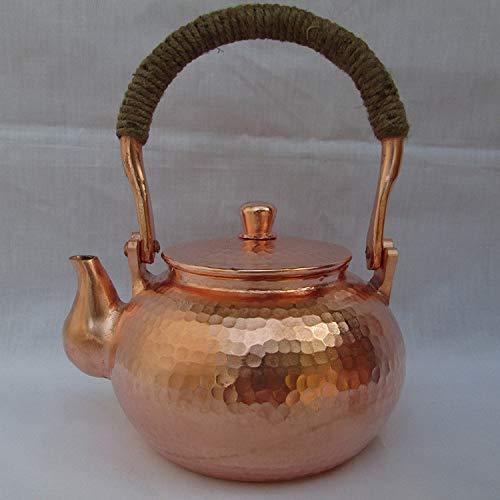 Tetera Tetera Tetera Mini Martillado Copper Teakettle1000ml