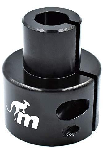 myBESTscooter Adaptador Original GS01 X-Lock Monorim para los Modelos M365, 1S, Essential, Pro del Patinete eléctrico Xiaomi (Negro)