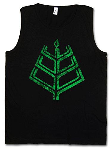 Urban Backwoods Romuva Latvian Dievturity Symbol Heren Tank Top Training Gym Shirt