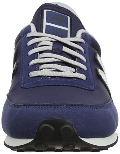 New Balance 410, Zapatillas Unisex Adulto, Azul (Navy/White Orange), 40 EU