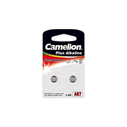 realcom–Taste Alkaline AG7/LR9271.5V (2Pcs) Camelion