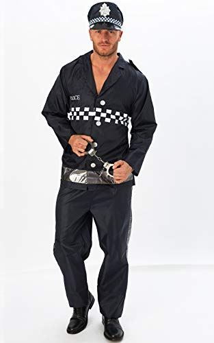 Rubie's Official Adult's Policeman Costume - X-Larg