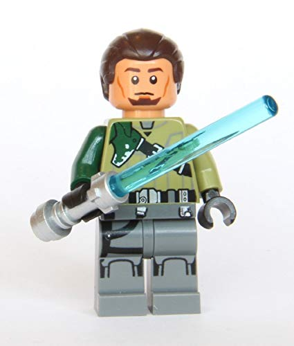 LEGO Star Wars Rebels Minifigure - Kanan Jarrus with Lightsaber (Brown Hair)