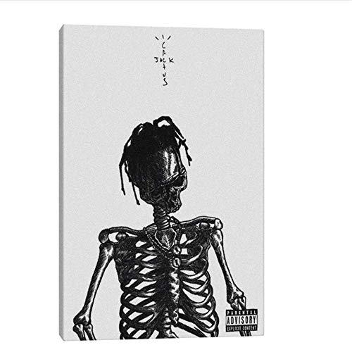 YaShengZhuangShi Leinwand Kunstwerk Malerei 60x80cm ohne Rahmen Kaktus Jack Rapper Poster Poster Drucke für Wohnzimmer Home Schlafzimmer Dekor Malerei
