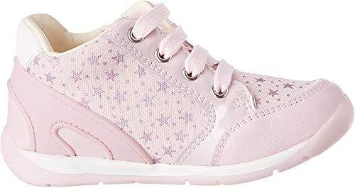 Geox Baby Mädchen B Each Girl C Sneaker, Pink (Pink C8004), 23 EU
