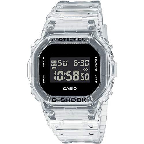 [カシオ] 腕時計 G-SHOCKジーショック スケルトン DW-5600SKE-7メンズ クリア [並行輸入品]