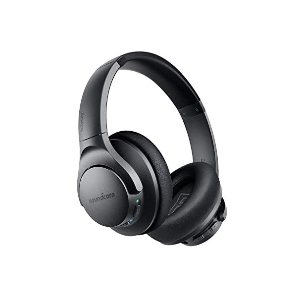 Anker Soundcore Life Q20 Hybrid Active Noise Cancelling Headphones, Wireless Over...
