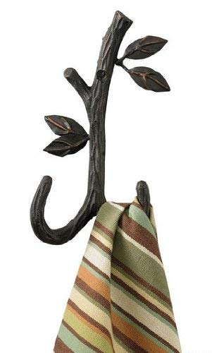 Nature Walk Double Wall Mounted Towel Hook
