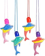 Rhode Island Novelty Dolphin Sand Art Necklaces 24 Pieces