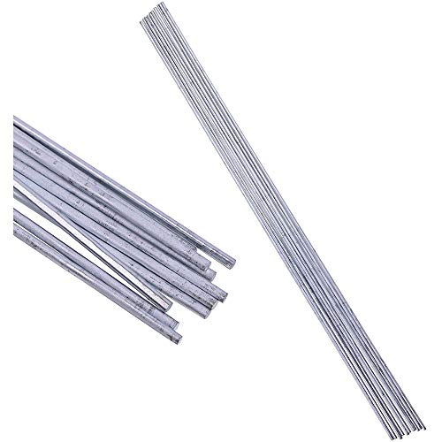 LOKIH Acero Inoxidable Suministros Varilla de Soldadura Electrodos Peso 1,2 mm:: diámetro...
