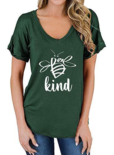 Womens Bee Graphic T-Shirt