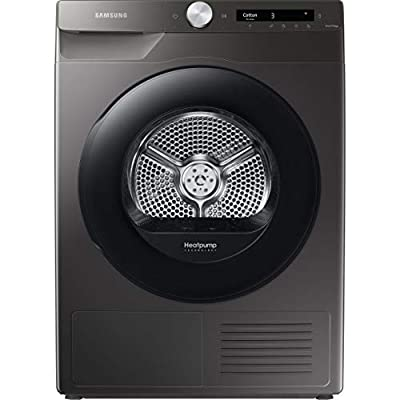 Samsung Series 5+ DV80T5220AN/S1 WiFi-enabled 8 kg Heat Pump Tumble Dryer - Graphite - A+++ Rated