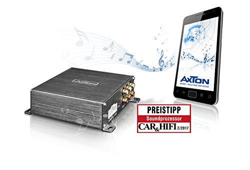 AXTON A500DSP 5-Kanal DSP-Vorverstärker mit iOS und Android Steuerung