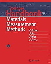 Best springer handbook of materials measurement methods Reviews
