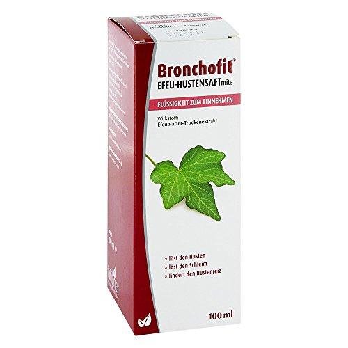 BRONCHOFIT Efeu-Hustensaft mite 8,7 mg/ml Fl 100 ml