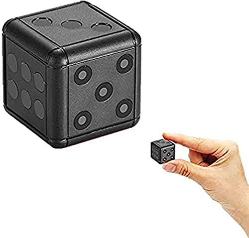 LXDZXY Mini Cámaras, Cámara De Visión Nocturna HD 1080P Grabadora De Video Portátil para Interiores/Exteriores Cámara Portátil Recargable con Detección De Movimiento,Blanco