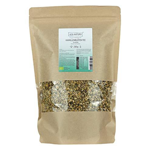 Vita Natura Kamillen Tee, loser Arzneitee, Bio, 1er Pack (1 x 250 g)