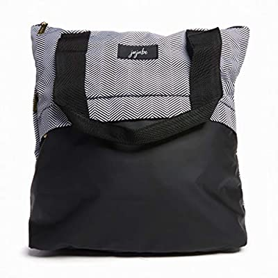 JuJuBe All That Tote | New Addition Queen of The Nile | Lightweight Zippered Tote Bag with Multi-Functional Pockets, Shopping Bag, Diaper Bag or Laptop Travel Bag Purse for Women & Men