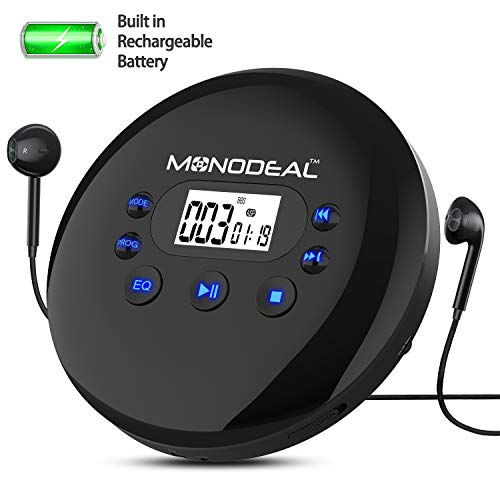 Portable CD Player, Monodeal Rec...