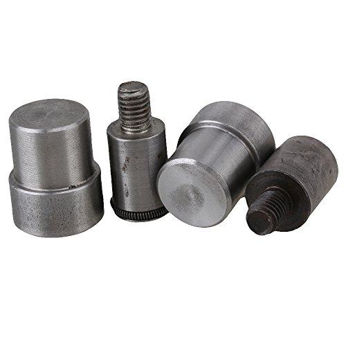 Juego de piezas de repuesto de metal cnbtr plata botón a presión muere molde para 83115mm mano prensa Máquina